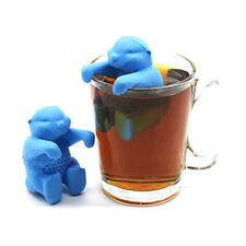 Silicone Otter Diffuser Infuser Loose Tea Leaf Strainers Herbal Spice Filter HOT