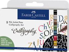 Faber Castell Tuschestift PITT artist pen Kalligraphie 8er Etui *!bestprice!*
