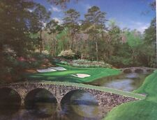 Larry Dyke THE 12TH AT AUGUSTA Golf Artist Proof 32/50 Limited 1st Edition