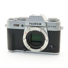 Fujifilm Fuji X-T30 26.1MP Mirrorless Digital Camera Body (Silver) #210