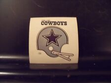 1977 NFL Football Helmet Sticker Decal Dallas Cowboys Sunbeam Bread