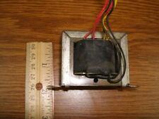 Power Transformer 12 Volt .5A / 60 Volt .18A / 72 Volt AC Dual Secondary