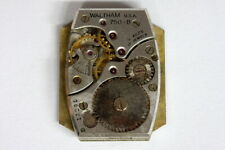 Waltham 750-B USA rectangular watch movement for PARTS - 138814