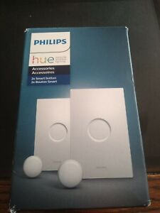 Philips Hue Smart Button for Hue Smart Lights  New in an Open Box ONLY 1 SET
