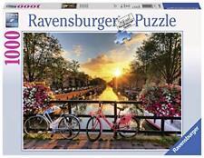 Ravensburger 196067 - Puzzle Biciclette ad Amsterdam, 1000 Pezzi, (V8k)
