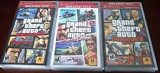 Grand Theft Auto  (PSP TRILOGY)  Liberty and Vice City Stories + Chinatown Wars