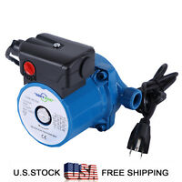NPT 3/4'' Hot Water Circulation Pump 110-120V,3-Speed Household Circulator Pump