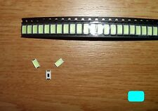 10 Stück LED SMD 5730 EISBLAU (25mA) Ice Blue