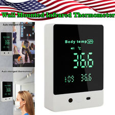 Latest Auto Intelligent Wall Mounted Digital Infrared Thermometer Non-contact
