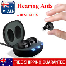 Rechargeable Invisible Hearing Aids Digital Mini Adjustable Tone Sound Amplifier