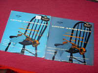 """Louis Armstrong:  At the Crescendo Vols 1 & 3   UK  1955    Bruswick   7""""  EPs"""
