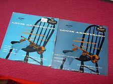 "Louis Armstrong: At the Crescendo vol 1 & 3 UK 1955 Bruswick 7"" EPS"