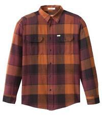 MATIX Betters Flannel Shirt (L) Burnt Orange
