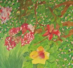 URSULA SPOTTISWOODE 1952-2015 Large British Modernist Still Life Painting