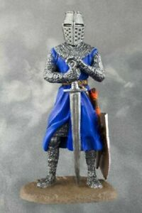 Medieval Teutonic Knight Teutonic  PAINTED. Tin Soldiers 54mm 1/32