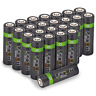 Rechargeable AA Batteries High Capacity 2100mAh - Multiple Pack Sizes