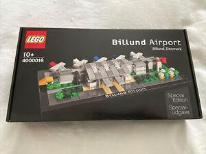 LEGO Billund Airport 4000016 Rare Limited Edition Brand New Sealed Box