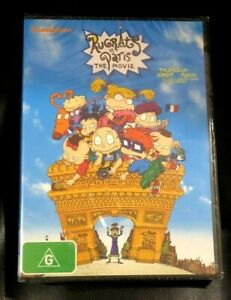 The Rugrats In Paris - Movie (DVD, 2019) Brand New Sealed in Plastic Region 4