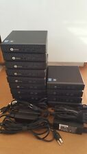 Lot of 13 - HP EliteDesk 800 G1 Mini: Intel i7 4765T 2.00GHz 4GB/8GB RAM no disk
