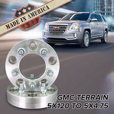 "5x120 to 5x4.75"" (GMC Cadillac BMW Land Rover) 