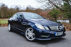 Mercedes Benz E250 Sport CDI - Blue - Automatic - Coupe - 2013