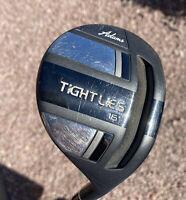 RH ADAMS GOLF Tight Lies 3-Wood, 16*, Bassara Graphite Shaft E55 x5ct Flex-Lite