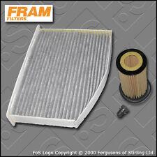 SERVICE KIT VW GOLF MK5 (1K) 2.0 FSI FRAM OIL CABIN FILTERS (2004-2009)