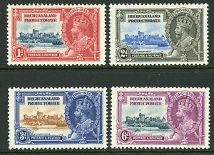 British 1935 KGV Silver Jubilee Bechuanaland Scott # 117-12  Mint Non Hinged Y94