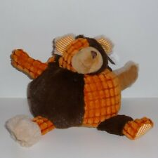 Doudou Ours Patchwork - Neuf