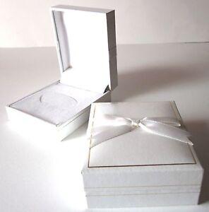BABY Bangle/Bracelet White Jewellery Gift Box-Girl Christening Baby Gift
