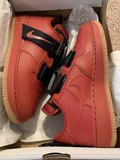 Nike Air Force 1 Utility AJ6601-600 Men's Size 7Y Dune Red Black Gum NIB Jordan