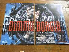 DIMMU BORGIR - Publicité de magazine / Advert PURITANICAL !!! 2P !!!!!