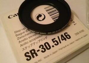 Canon SR-30.5/46 - Step-up Ring for video / Bague d'adaptation / Zwischenring