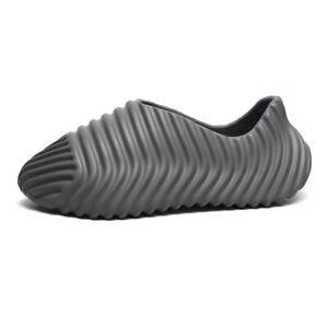 Kanye Men's Summer Slides New Slippers Sandals Flip Flops Breathable Men Beach