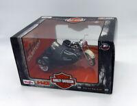Moto Harley-Davidson 1958 FLH Duo Glide de Maisto 1:18