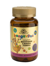 Solgar Kangavites Childrens Multivitamin - Bouncing Berry Flavour 60 Tablets