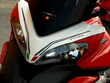 kit adesivi moto per ducati multistrada 1200 1200s kit portanumero cupolino