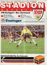 BL 89/90 VfB Stuttgart - Borussia Dortmund (21.10.1989)