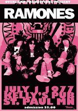 Ramones St. Paul 1977 Repro Tour POSTER