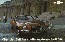 """1972 Camaro SS-Z/28 Original Factory Issued Sales Brochure (POSTER) 11""""x18"""""""