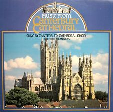 Music From Cantebury Cathedral Allan Wicks [1978] Stereo LP + insert