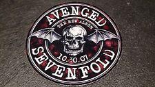 AVENGED SEVENFOLD Promo Sticker (Round) New Album 10/30/07