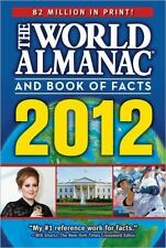 The World Almanac® and Book of Facts 2012 by World Almanac Staff (2011,...