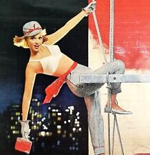 Maidenform Bra 1963 Magazine Ad Painting The Town Red 13 x 10.5 Inches