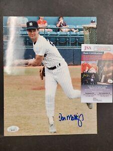 Don Mattingly JSA Certified autographed 8x10 photo MLB New York Yankees