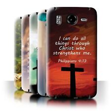 STUFF4 Back Case/Cover/Skin for HTC Desire HD/G10/Christian Bible Verse