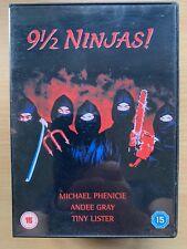 Michael Phenicie, Andee Gray 9 1/2 Ninjas ~ 1990 Artes Marciales Comedia Gb DVD