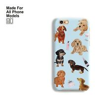 Dachshund Puppy Phone Case cover iPhone 11 pro max X 8 7 Galaxy S10 S9 Note 10 9