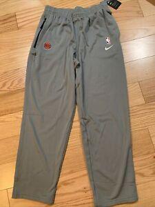 Nike NBA New York Knicks Player Issue Travel Pant Sz XL BNwT AV1695-002