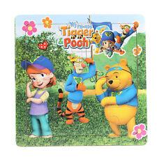 1 PCS Wooden Winnie Pooh Jigsaw Puzzles Toys for Boys & Girls Ages 3+ (Winnie-W)